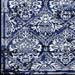 Antique Damask Navy